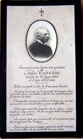 MEMORANDUM  SOUVENIR  JULES TERISSE FAIRE PART DECES - Obituary Notices