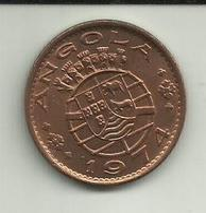 1 Escudo 1974 Angola - Angola