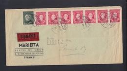 Slowakei Slovakia Expres Brief 1941 Tyrnau Nach Zürich - Slowakische Republik
