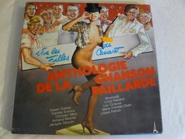 LD 5855 à LD 5860 ANTHOLOGIE DE LA CHANSON PAILLARDE. Coffret De 6 Albums 33 T - Humor, Cabaret