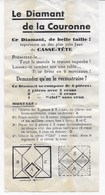 Le Diamant De La Couronne (Casse-tête) - Autres Collections