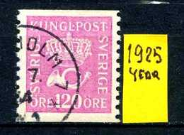 SVEZIA - SVERIGE - Year 1925 - Usato - Used - Utilisè - Gebraucht. - Used Stamps