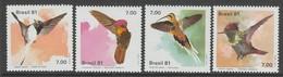 SERIE NEUVE DU BRESIL - OISEAUX : COLIBRIS N° Y&T 1473 A 1476 - Hummingbirds