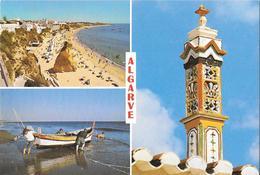 ALGARVE - Place, Cheminée Typique Et Pêcheurs - Faro