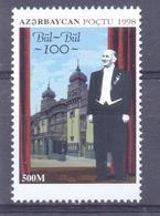 1998. Azerbaijan, Bul-Bul, Singer, 1v, Mint/** - Aserbaidschan