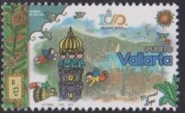 MEXICO, 2018, MNH, PUERTO  VALLARTA, CATHEDRALS, SAILBOATS, MOUNTAINS, 1v - Holidays & Tourism