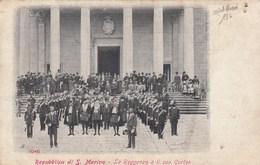 REPUBBLICA DI SAN MARINO-LA REGGENZA E IL SUO CORTEO-CARTOLINA NON VIAGGIATA ANNO 1915-925 - Saint-Marin