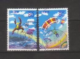 8907- Japan , Complete Used Set Michel 3029-3030 - - Gebraucht