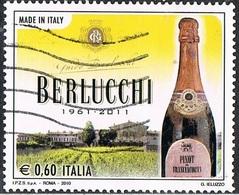 2010 - ITALIA / ITALY - CINQUANTENARIO DELLA BERLUCCHI / 50th OF BERLUCCHI. USATO - Vini E Alcolici