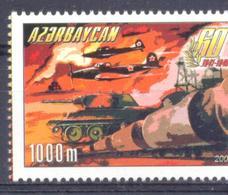2005. Azerbaijan, 60y Of Victory In WWII, 1v, Mint/** - Aserbaidschan