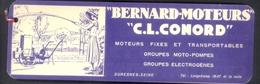 """RARE MARQUE PAGE ANCIEN ILLUSTRE - SALON DE L'AUTOMOBILE - 1934 - """"BERNARD MOTEURS"""" - """"C.L. CONORD"""" - Bookmarks"""