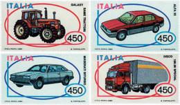 Ref. 42292 * NEW *  - ITALY . 1984. ITALIAN AUTOMOBILES. AUTOMOVILES ITALIANOS - 6. 1946-.. República