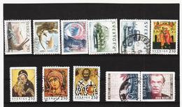 ECK999 SCHWEDEN 1992 Michl 1739/41+1746/53 Gestempelt SIEHE ABBILDUNG - Schweden