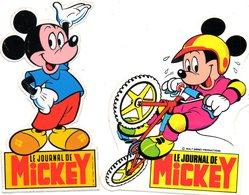 Lot Autocollant MICKEY - Aufkleber