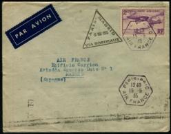 """Lot N°7319 France PA N°7 Sur Pli 1er Vol """"PARIS-MADRID 15/5/35"""", Cachets Spéciaux - TB - Marcophilie (Lettres)"""