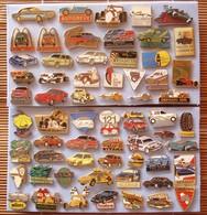 Joli Lot De 62 Pin's Automobiles, Voir Photos, Pins Pin. - Badges