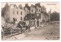 CPA Guerre 1914/18 : NAMUR Plaine St Nicolas , Militaire Avec Brassard - Namur