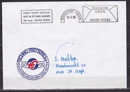 14-6-1986 Stempels STADSPOST UDEN Op Gelopen Envelop - Poststempels/ Marcofilie