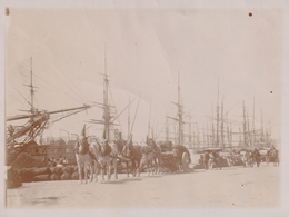 Photo 120 Mm X 90 Mm - Vers 1900 - Port De Bizerte Tunisie - - Lieux