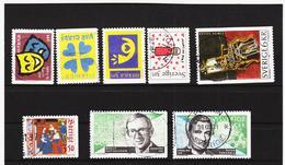 ECK1003 SCHWEDEN 1996 Michl 1959/62+1968+1972/73 Gestempelt SIEHE ABBILDUNG - Schweden