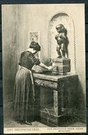 """CPA S/w Künstlerkarte German Empires,München""""Das Brunnenbuberl Von Prof.Herm.Hahn """" 1 AK Used - Museen"""
