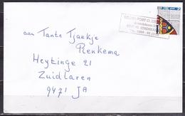 Ca 1985 Zegel 50 C FRL Post Afgestempeld Met REGIO POST O. DRENTHE STADSKANAAL  Op Gelopen Envelop - Poststempels/ Marcofilie