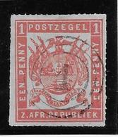Transvaal N°14 - Oblitéré - TB - South Africa (...-1961)