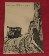 Salève - Chemin De Fer Electrique - Le Tunnel ::::: Animation - Train   ---------------- 477 - Trains