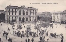 CARTOLINA - POSTCARD - ALGERIA - CONSTANTINE - PLACE DE LA BRE'CHE - LA POSTE - Algeria