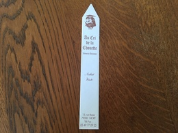 Marque Page Au Cri De La Chouette - Bookmarks