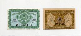 INDOCHINE / Superbes Biilets De 1942 UNC N° 88 / 89 De Paper Money - Indochina