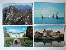 FRANCE - Lot 30 - Vues De Villes Et De Villages - 100 Cartes Postales Différentes - Postcards