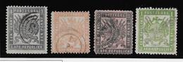 Transvaal N°70/73 - Oblitéré - B/TB - South Africa (...-1961)