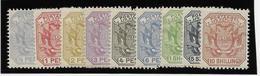 Transvaal N°97/105 - Neufs * Avec Charnière - TB - South Africa (...-1961)