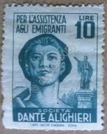Erinnofilia Italia - Società Dante Alighieri - Pro Assistenza Emigranti MNH*** - Unclassified