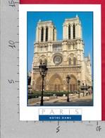 CARTOLINA VG FRANCIA - PARIS - Facade Et Parvis De Notre Dame - 10 X 15 - ANN. 1996 - Notre Dame De Paris