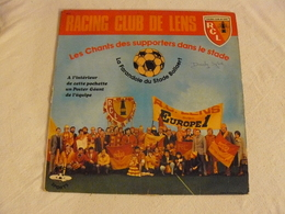 10001 RACING CLUB DE LENS LES CHANTS DES SUPPORTERS DANS LE STADE. 1976/1977 - Vinyl Records