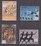 Guyana  27.09.2004 Mi # 7678-81 2004 Athens Summer Olympics MNH OG - Verano 2004: Atenas