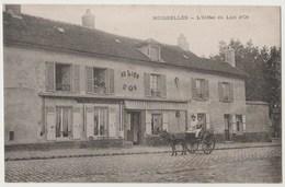 """CPA 95 MOISSELLES L"""" Hôtel Du Lion D' Or - Moisselles"""