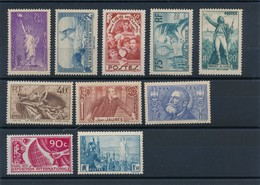 N-101: FRANCE:  Lot  Avec Timbres** De 1936  N°309-311/315-318/19-326-328 - France