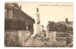 Cp Champigny Les Langres Le Monument   - Scan Recto Verso - France