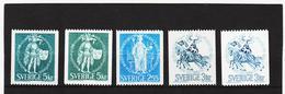 ECK1024 SCHWEDEN 1970 Michl 671/73 X+y ** Postfrisch SIEHE ABBILDUNG - Schweden