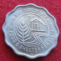 India 10 Paise 1978 FAO F.a.o.  Inde Indie UNCºº - India