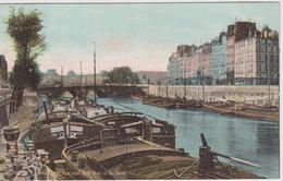 PARIS -  244 - PARIS - Pont Neuf - Petit Bras De La Seine  ( - Carte Colorisée, N'a Pas Circulé ) - Ponts
