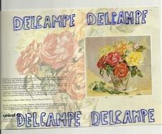 Bouquet De Roses Tricolores. Carte Double - Fleurs, Plantes & Arbres