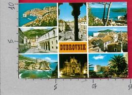 CARTOLINA VG JUGOSLAVIA - DUBROVNIK - Vedutine Multivue - 10 X 15 - ANN. 198? - Jugoslavia