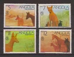 ANGOLA 1991 Espamer, Angola Dogs - Angola