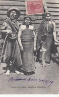Argentina, Indian Family, Native Ethnic Fashion, C1900s Vintage Postcard - Argentina