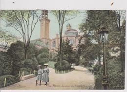 PARIS -  729 - Paris - Jardins Du Trocadéro  ( - Carte Colorisée, N'a Pas Circulé  - L.V & Cie ) - Parcs, Jardins
