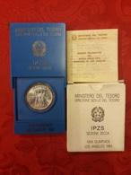500 Lire Olimpiadi Los Angeles 1984  Repubblica Italiana Olimpic Games - Commemorative